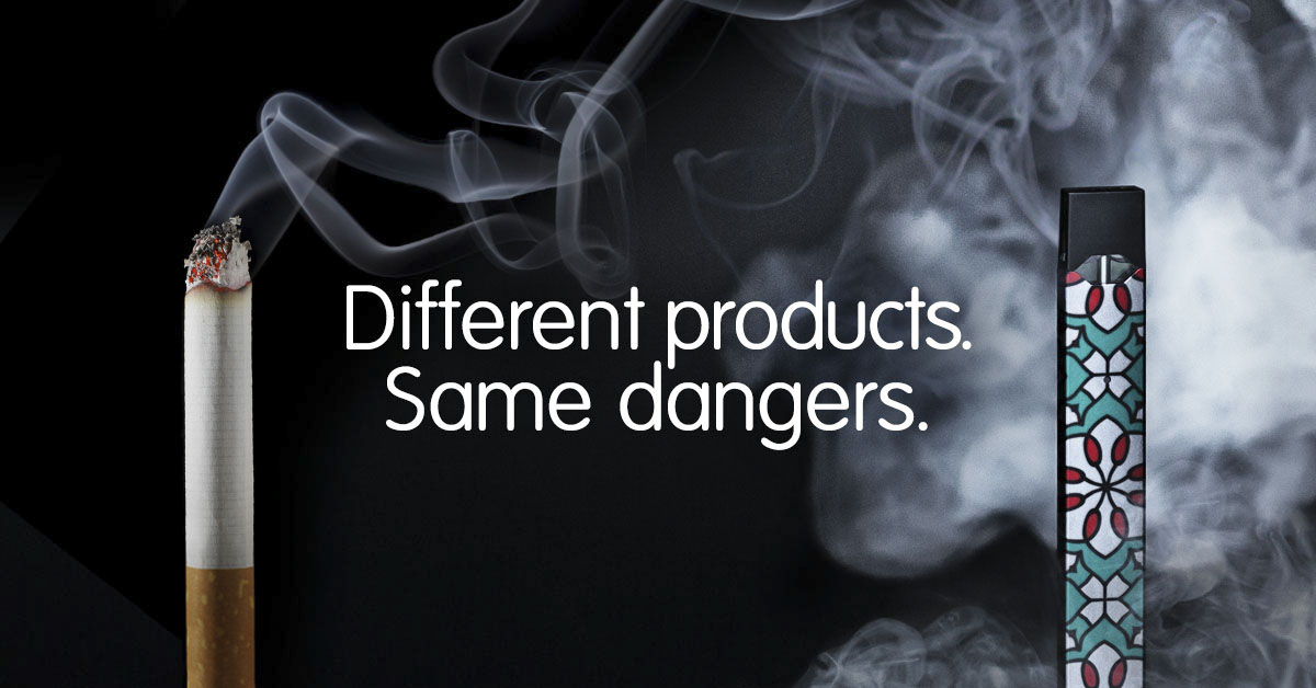 Different products. Same dangers.
