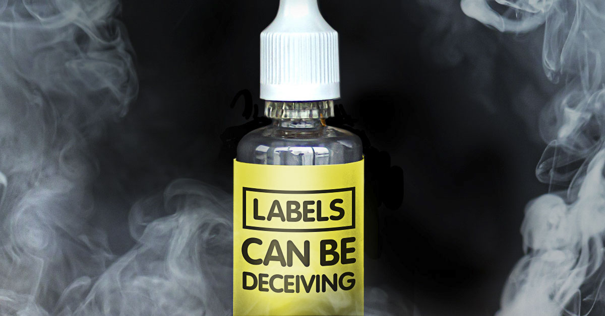 Labels can be deceiving