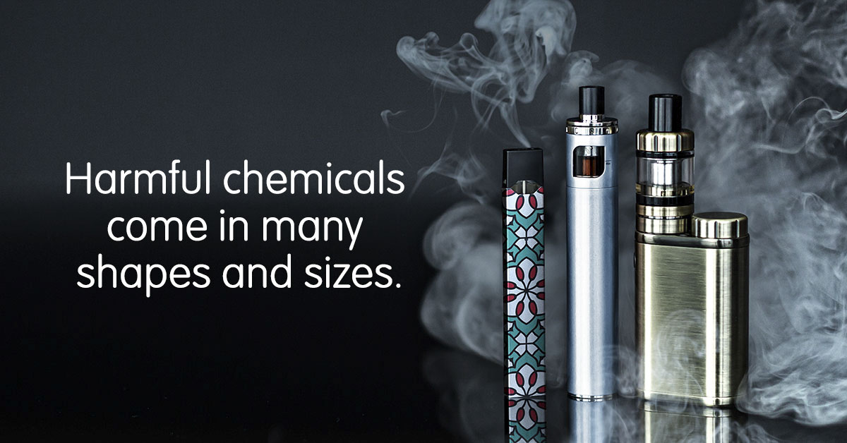 Harmful chemicals come in many shapes and sizes.